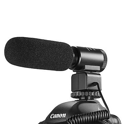 Neewer Aluminium Alloy Stereo 3.5mm Recording Interview Microphone