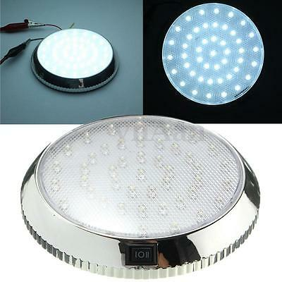 Car Vehicle DC 12V 46 LED Interior Indoor Roof Ceiling Dome Light White Lamp