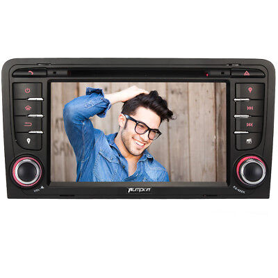 "HD 7"" Autoradio DVD Player GPS Navigation Car Stereo USB BT 3G FÜR AUDI A3 03-11"