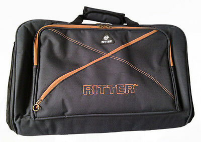 Ritter RAS7PD-MGB Session 7 Series Pedal Board, Misty Grey - Brown (NEW)