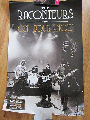 RACONTEURS  On Tour Now Poster