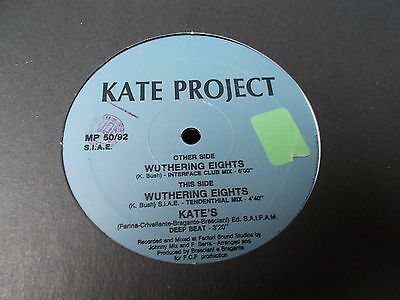 "Kate Project Wuthering Eights 12"" New Meal Power 1992 MP 050"