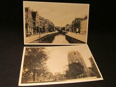 Leewarden Oldehove & Tuinen 2 Early 1900s Uitg J Sleding Amsterdam Postcards
