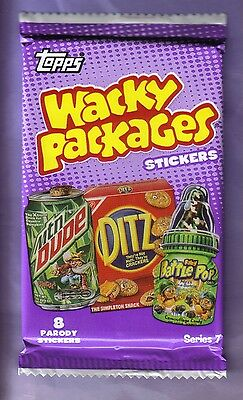 2010 Topps Wacky Packages Series 7 Sticker Pack!