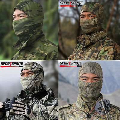 Serpentine Camouflage Balaclava Hood Tactical Military Full Face Mask Cover Hat