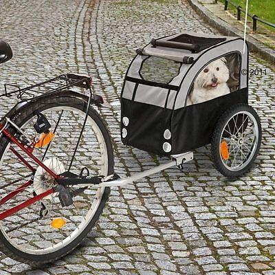 Dog Bike Trailer Dirt Water Resistant Teflon Coated Safe Transport Cabin Puppies