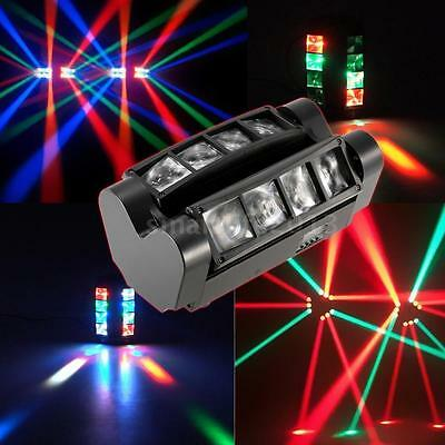 newc Eyourlife 8X3W LED Spider Moving Head Light RGBW 4 in 1 Stage Lighting DJ