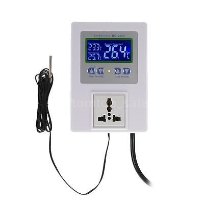 Digital Temperature Controller Thermostat For Green House/Freezer/Incubator W0B8