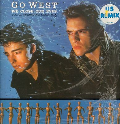 "Go West(12"" Vinyl P/S)We Close Our Eyes-Chrysalis-CHS 12 2850-UK-1985-Ex/NM"