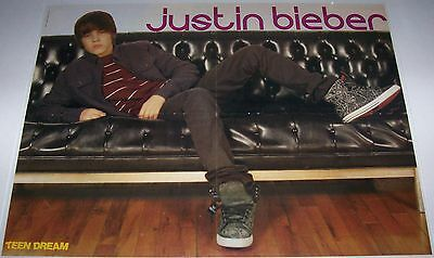 "JUSTIN BIEBER - GREAT CLOSE-UP - 22"" x 16"" MAGAZINE POSTER"