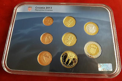 *Kroatien Probe Euros Premium Collection 2013 PP *