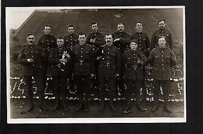 Pembrokeshire Yeomanry - real photographic postcard