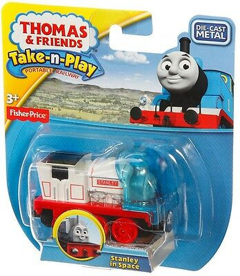 Fisher Price - Thomas & Friends Take n Play - Stanley In Space - New