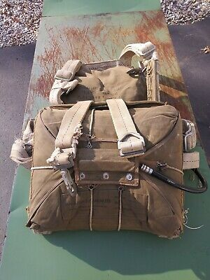 Switlik Seat Type Saftey Chute Dated May 1947 U.S. MILITARY PARACHUTE