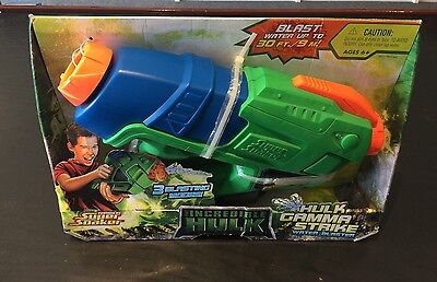 Super Soaker The Incredible Hulk Gamma Strike Water Blaster New Old Stock 2007