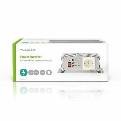 Power Inverter Onda Sinusoidale Modificata 24 VDC - AC 230 V 600 W F