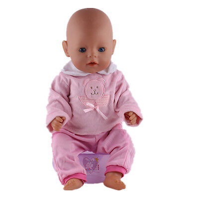 New 1set Doll Clothes Wearfor 43cm Baby Born zapf (only sell clothes ) n75