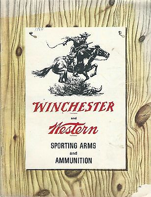 Gun Products Catalog - Winchester Western Sporting Arms Ammunition 1960 (SP09)