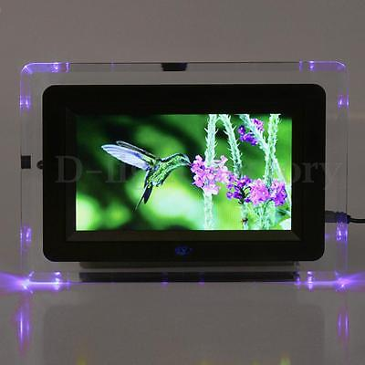 "7"" LCD Digital Photo Frame Movies MP3 MP4 Player & Remote Christmas Friends Gift"