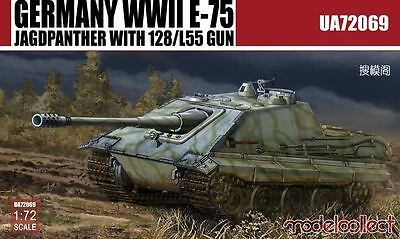 MODELCOLLECT UA72069 WWII German E-75 Jagdpanther w/128/L55 Gun in 1:72