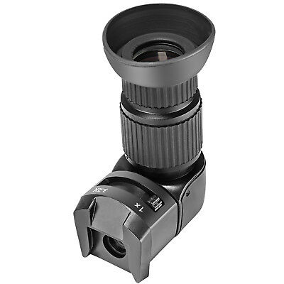 Neewer 1X 3.2X Magnification Right Angle Viewfinder for Canon Nikon Pentax Dynax