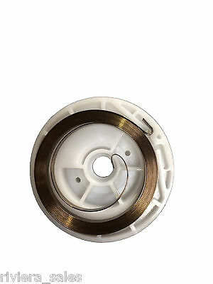 Genuine Stihl Pull Start Spring & Pulley To Fit Hs80,85 Fs75,80 Km85 41371901100