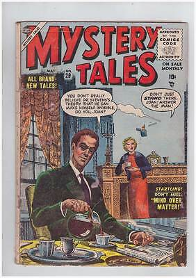 Mystery Tales # 29  Don't Miss Mind Over Matter ! grade 2.0 Scarce Hot Book !!