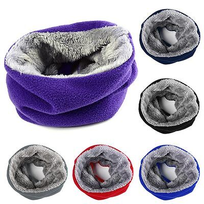 Warm New Velvet Knitted Winter Baby Scarf For Kids&Adult Neckerchief Comfortable