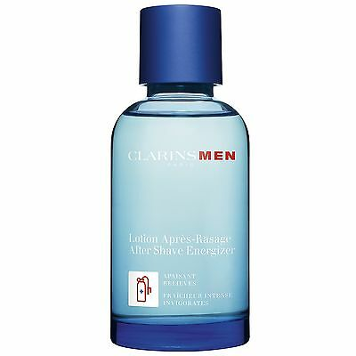 NEW Clarins Men After Shave Energizer 100ml FREE P&P