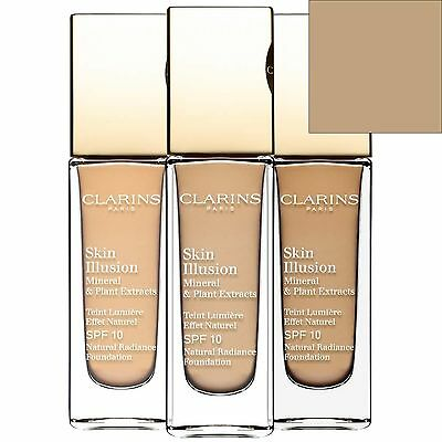 Clarins Skin Illusion Natural Radiance Foundation SPF 10 112 Amber 30ml