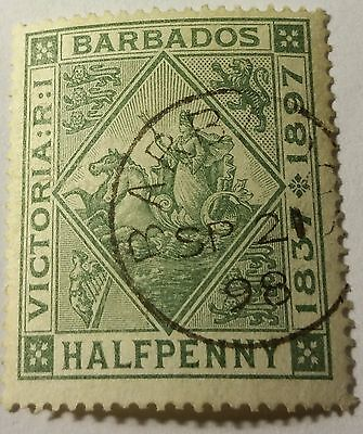 Barbados Scott#82    Used...worldwide Stamp