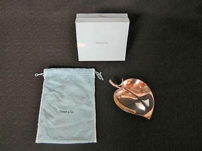 Tiffany and Co Sterling Leaf Tray