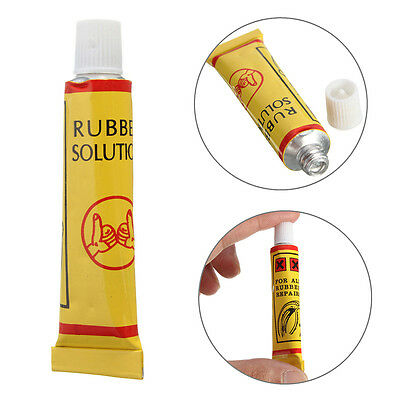 10g Bike Bicycle Cycling Tire Tyre Rubber Patches Repair Tube Glue Fix Tool JR