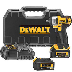 "Dewalt Dcf883M2 3/8"" Drive 20V Max 4Ah Li-Ion High Torque Impact Wrench Kit"