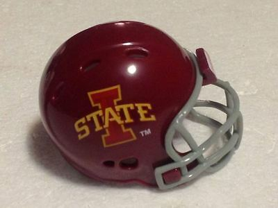 American Football College RIDDELL Pocket Pro Helmet IOWA STATE CYCLONES