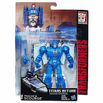 Transformers Generations Titans Return Deluxe Class Fracas and Scourge *NEW*