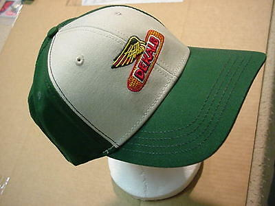 DEKALB SEED Cap Hat-GREEN/WHITE-COLORFUL HAT-GREAT EMBROIDERED VINTAGE LOGO!!