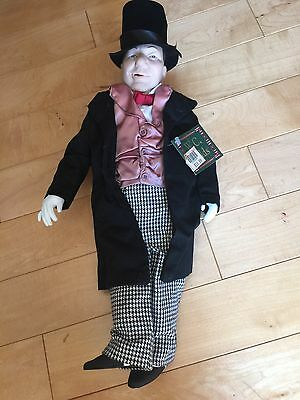 1991 Hamilton Gifts W.C. Fields Doll w/Tags