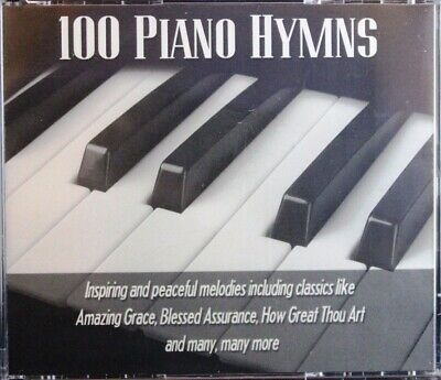 100 Piano Hymns Gerald Wolfe NEW 3 Disc Set CD Christian Inspiring Peaceful