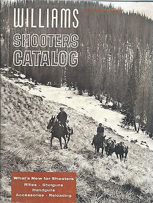 Sporting Goods Catalog - Williams Shooter's Catalog 11 1963 Hunting (SP17)