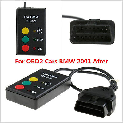 OBD2 OBDII Oil Service Inspection Reset Tool For BMW 2001 After X5 Mini Rover 75