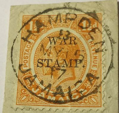 Jamaica   Scott #mr-5   Used.....worldwide Stamps