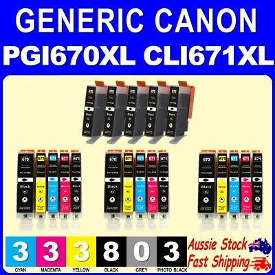 5x 10x 14x 20x 670XL PGI670XL CLI671XL ink for Canon MG5760 MG5765 MG6860 MG6865