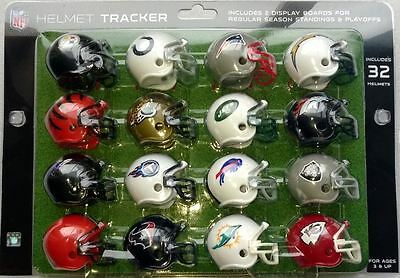 NFL American Football Riddell Set of 32 Mini Helmets