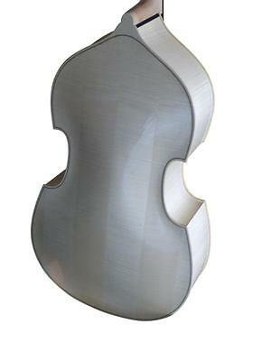 Double Bass 3/4 size, Made in Europe, Natural/Blonde, half-carved new