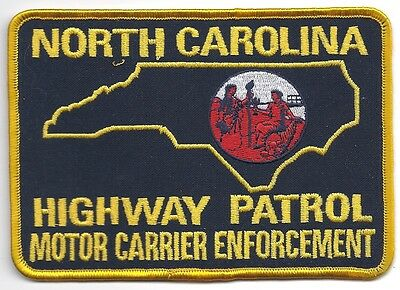 Us north carolina highway patrol police patch obsolete for Chp motor carrier safety unit