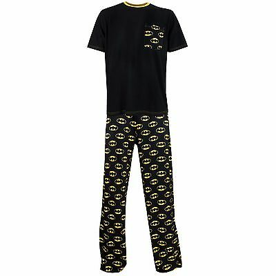 Mens Batman Pyjamas | Batman Pyjamas Set | Batman PJs
