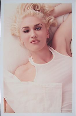 """GWEN STEFANI """"THIS IS WHAT THE TRUTH FEELS LIKE"""" U.S. PROMO POSTER - No Doubt"""