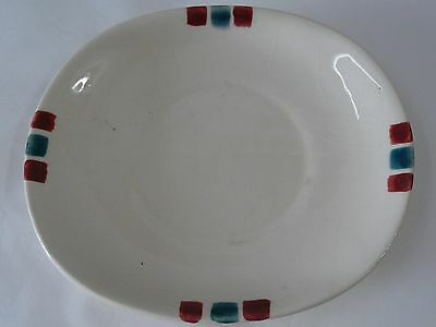 Purinton Pottery Apple Saucer Only No Cup