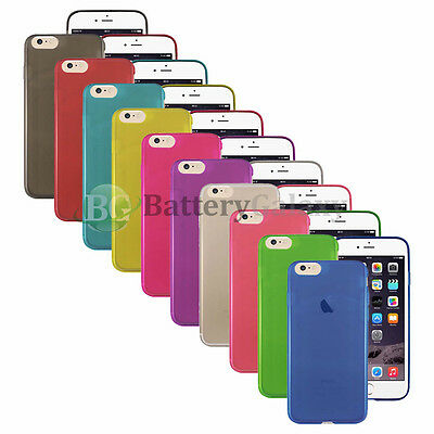 NEW HOT! Lot of 10 Soft Slim Thin Rubber Case Skin for Apple iPhone 7 50+SOLD
